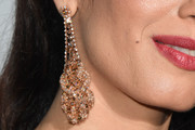 Amal Clooney Dangling Diamond Earrings