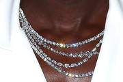 Lupita Nyong'o Layered Diamond Necklace
