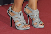 Monica Carrillo Strappy Sandals