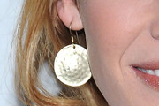 Rebecca Mader Gold Dangle Earrings