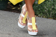 Ashley Hart Platform Sandals