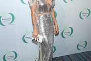Angie Harmon Sequin Dress