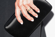 Jennifer Aniston Leather Clutch