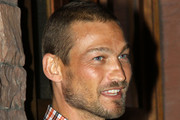 Andy Whitfield Buzzcut