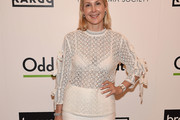 Kelly Rutherford Sheer Top