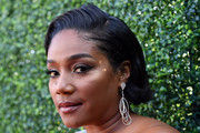 Tiffany Haddish Bobby Pinned Updo