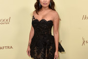 Jeannie Mai Lace Dress