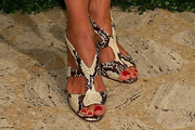 Sharon Bush Strappy Sandals