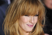 Kelly Reilly Medium Straight Cut with Bangs