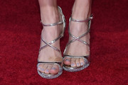 Beth Behrs Strappy Sandals