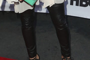 Marcia Gay Harden Leather Pants