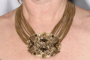 Janie Bryant Gold Statement Necklace