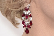 Charlene Wittstock Gemstone Chandelier Earrings