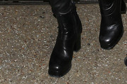 Margot Robbie Ankle Boots