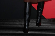 Emily Ratajkowski Knee High Boots