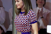 Queen Letizia of Spain Knit Top