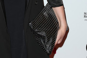 Rumer Willis Studded Clutch