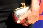 Audrina Patridge Metallic Clutch