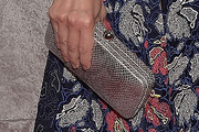 Cindi Leive Metallic Clutch