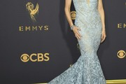 Felicity Huffman Mermaid Gown