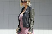 Kaley Cuoco Leather Jacket