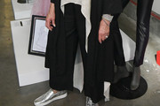 Olivia Newton-John Wide Leg Pants