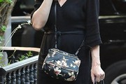 Liv Tyler Printed Shoulder Bag