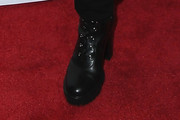 Debra Messing Combat Boots