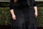 Chrissy Metz Off-the-Shoulder Dress