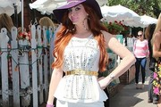 Phoebe Price Peplum Top