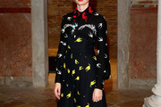 Alba Rohrwacher Print Dress