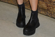 Maisie Williams Motorcycle Boots