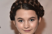 Chloe East Braided Updo