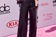 Demi Lovato Wide Leg Pants