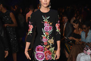 Hannah Jeter Embroidered Dress