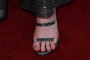 Elle Fanning Strappy Sandals