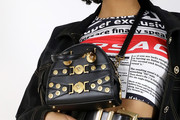 Imaan Hammam Studded Shoulder Bag
