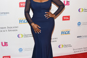 Niecy Nash Form-Fitting Dress