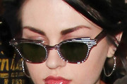Frances Bean Cobain Cateye Sunglasses