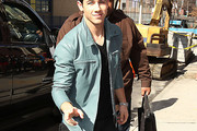 Nick Jonas Leather Jacket