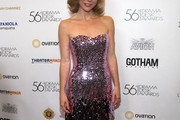 Kerry Butler Strapless Dress