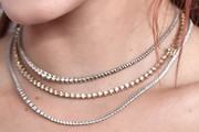 Bella Thorne Layered Diamond Necklace
