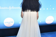 Sofia Carson Off-the-Shoulder Dress