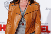Katarina Witt Leather Jacket