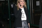 Camille Rowe Fitted Jacket