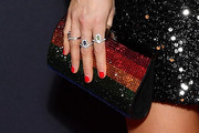 Berenice Bejo Beaded Clutch