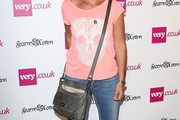 Davina McCall Leather Shoulder Bag