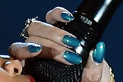 Rihanna Metallic Nail Polish