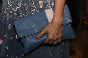 Helena Christensen Leather Clutch