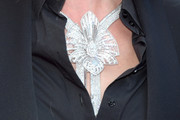 Uma Thurman Diamond Statement Necklace